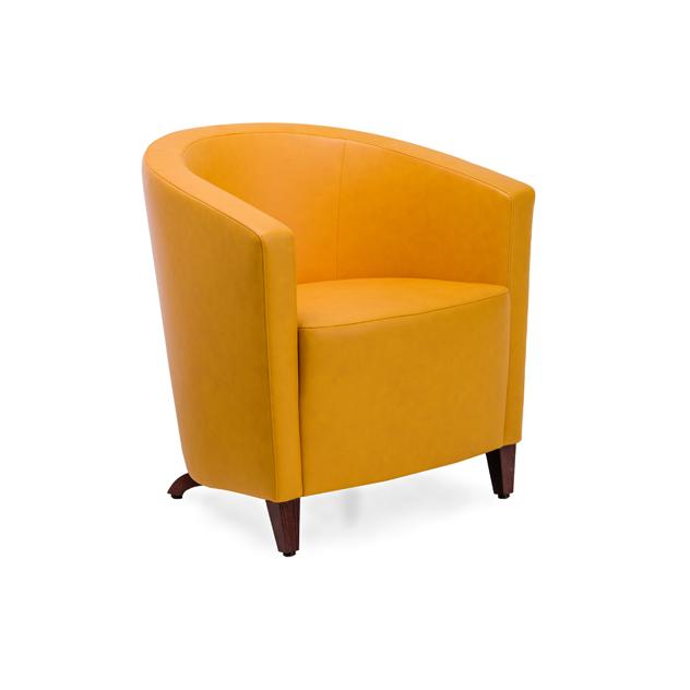 elton 114151 orange v - Elton Sitzgruppe mit festem und abnehmbaren Sitzkissen
