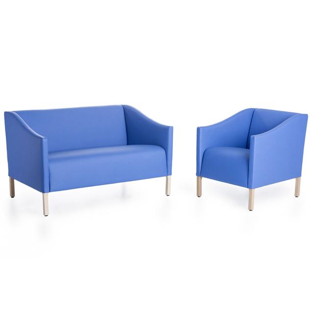 marlene 114107 108 sg blau - Sessel & Sofa