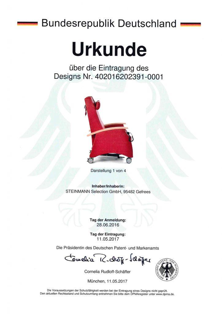 Zertifikat multicare Ruhesessel 9 513 9 509 724x1024 - Qualität