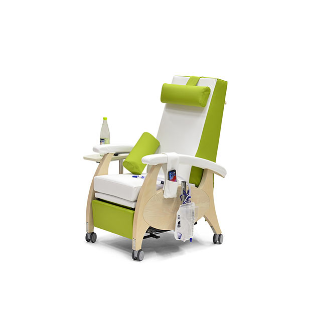 Pflegesessel MultiCare Wood 84513464R SiLeather weis limone 3 - MultiCare Wood Pflegesessel 84513