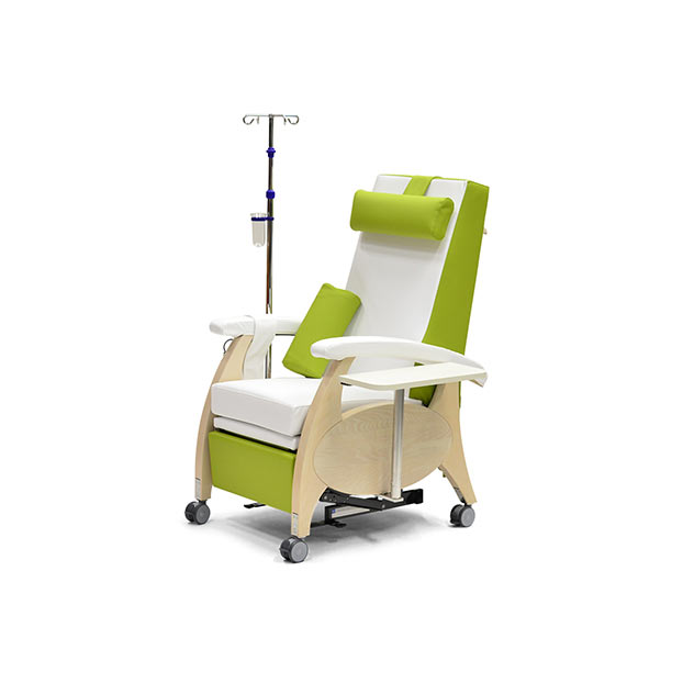 Pflegesessel MultiCare Wood 84513464R SiLeather weis limone 4 - MultiCare Wood Pflegesessel 84513