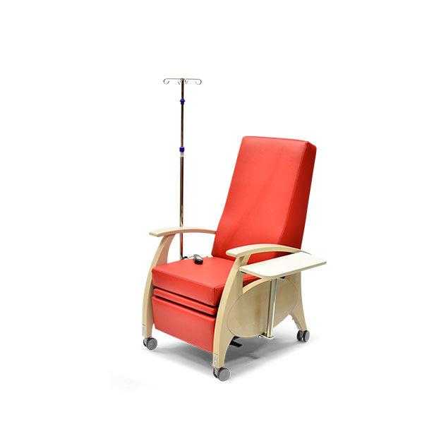 Pflegesessel MultiCare Wood 8513464R rot 3 - MultiCare Wood Pflegesessel 8513