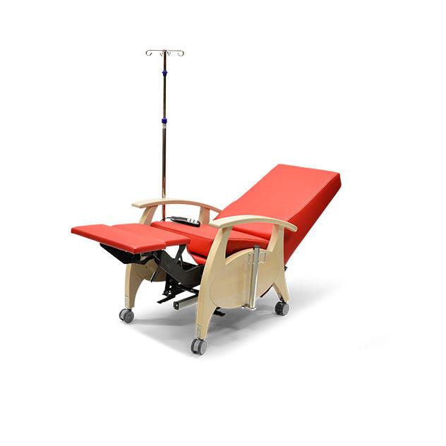 Pflegesessel MultiCare Wood 8513464R rot 4 - MultiCare Wood Pflegesessel 8513