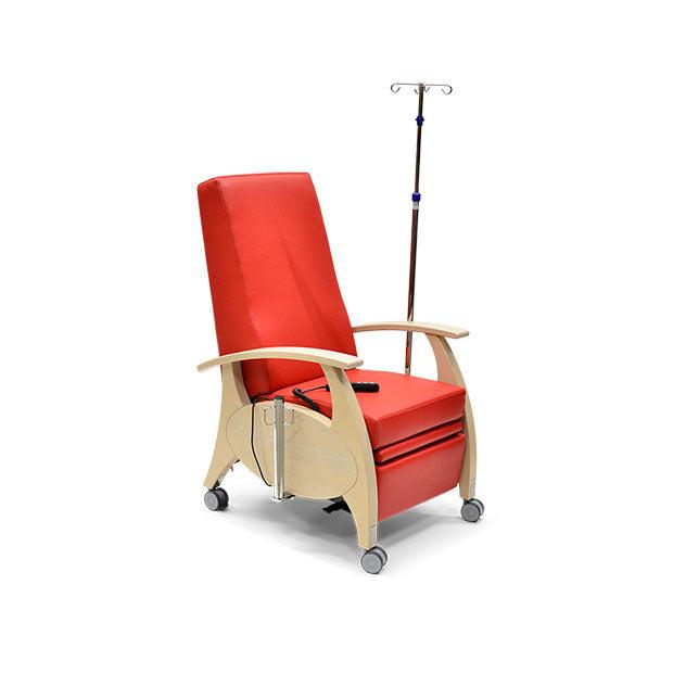 Pflegesessel MultiCare Wood 8513464R rot 5 - MultiCare Wood Pflegesessel 8513
