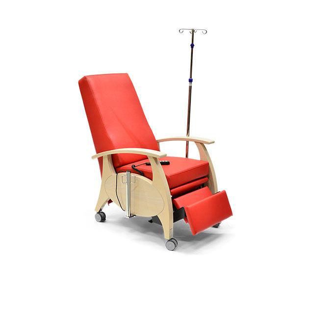 Pflegesessel MultiCare Wood 8513464R rot 6 - MultiCare Wood Pflegesessel 8513