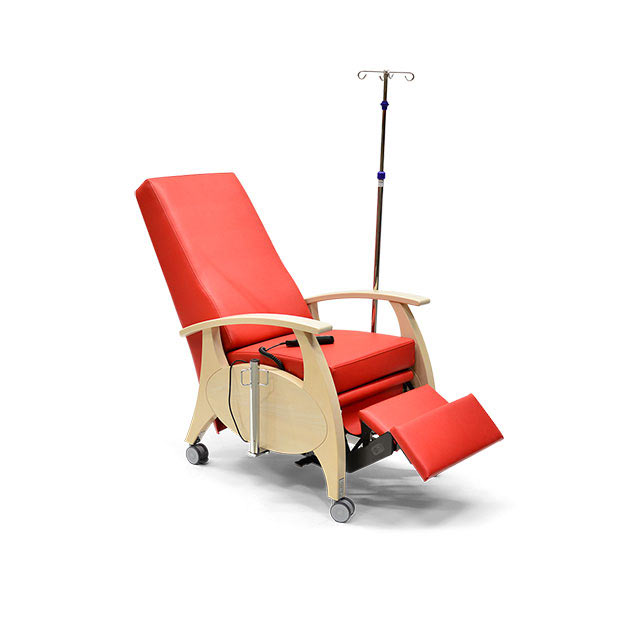 Pflegesessel MultiCare Wood 8513464R rot 7 - MultiCare Wood Pflegesessel 8513