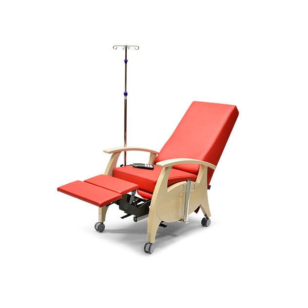 Pflegesessel MultiCare Wood 8513464R rot 9 - MultiCare Wood Pflegesessel 8513