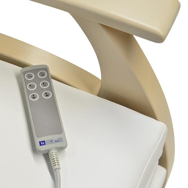Pflegesessel MultiCare Wood Handschalter medi 513 td2 - MultiCare Wood Pflegesessel 85513