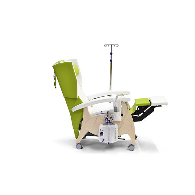 Pfleesessel MultiCare Wood 85513464R limone weis mZb 3 - MultiCare Wood Pflegesessel 85509