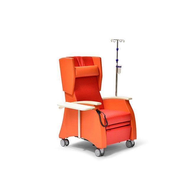 Pflegesessel MultiCare 91509460R rot orange Ahorn ov - MultiCare Pflegesessel 91509
