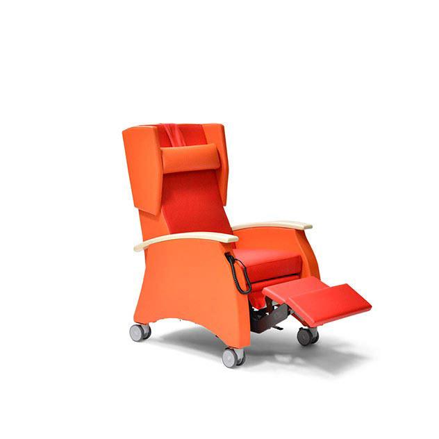 Pflegesessel MultiCare 91513460R rot orange Ahorn 2 - MultiCare Pflegesessel 91513