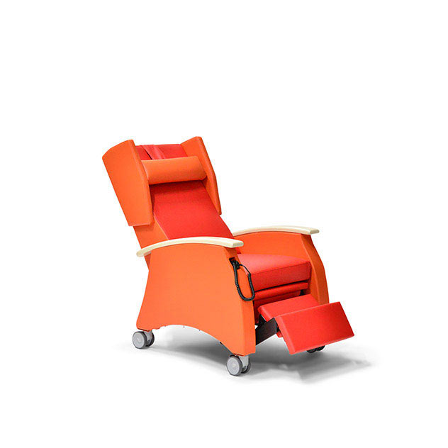 Pflegesessel MultiCare 91513460R rot orange Ahorn 5 - MultiCare Pflegesessel 91513