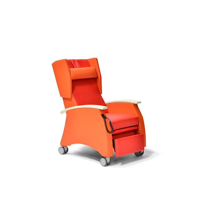 Pflegesessel MultiCare 91513460R rot orange Ahorn 6 - MultiCare Pflegesessel 91513