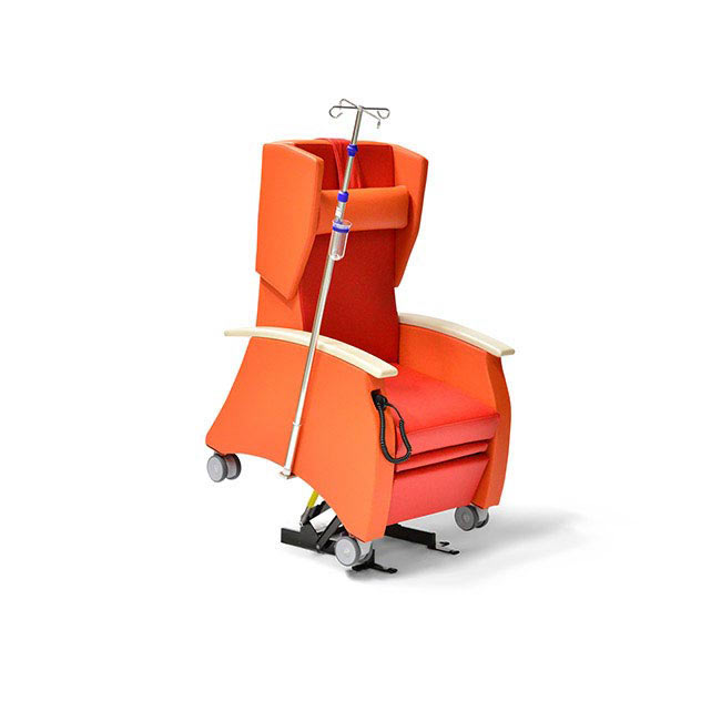 Pflegesessel MultiCare 91513460R rot orange Infusion 1 - MultiCare Pflegesessel 91513