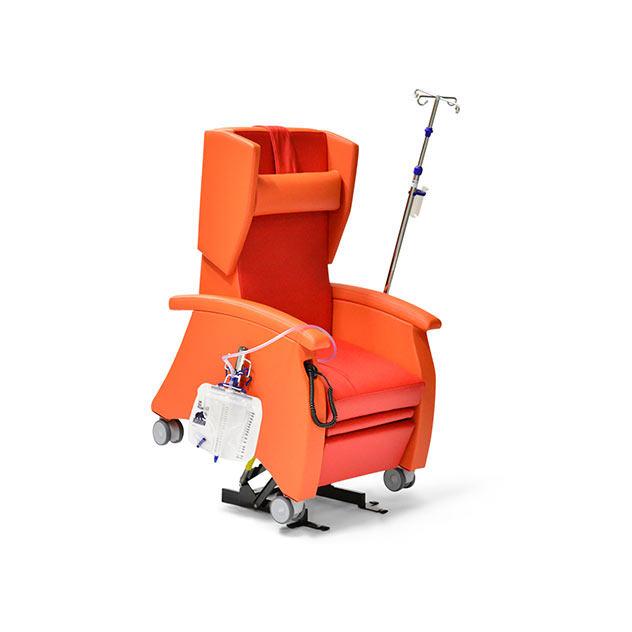 Pflegesessel MultiCare 95513460R orange rot 1 - MultiCare Pflegesessel 95513