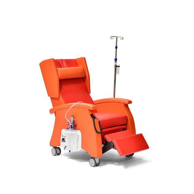 Pflegesessel MultiCare 95513460R orange rot zubeoer 6 - MultiCare Pflegesessel 95513