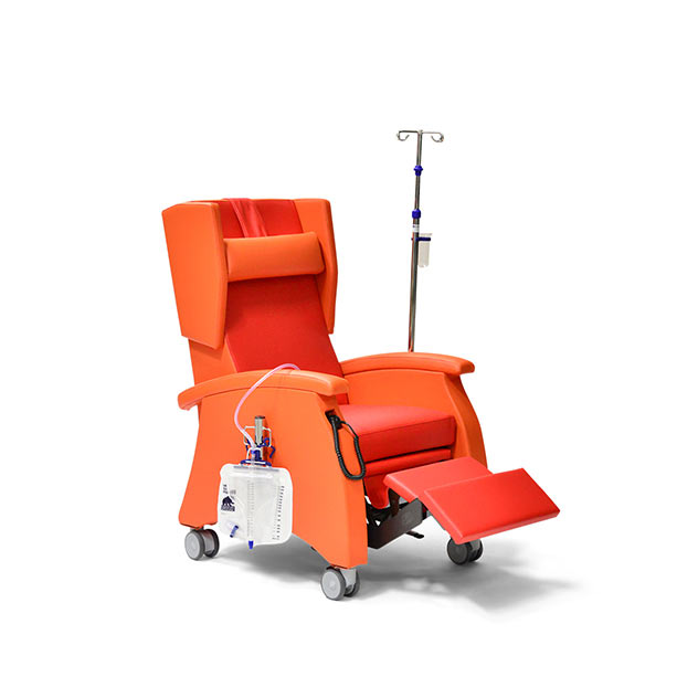 Pflegesessel MultiCare 95513460R orange rot zubeoer 7 - MultiCare Pflegesessel 95513