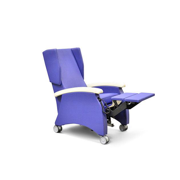 Pflegesessel MultiCare 95513460R blau 4 - MultiCare Pflegesessel 95513