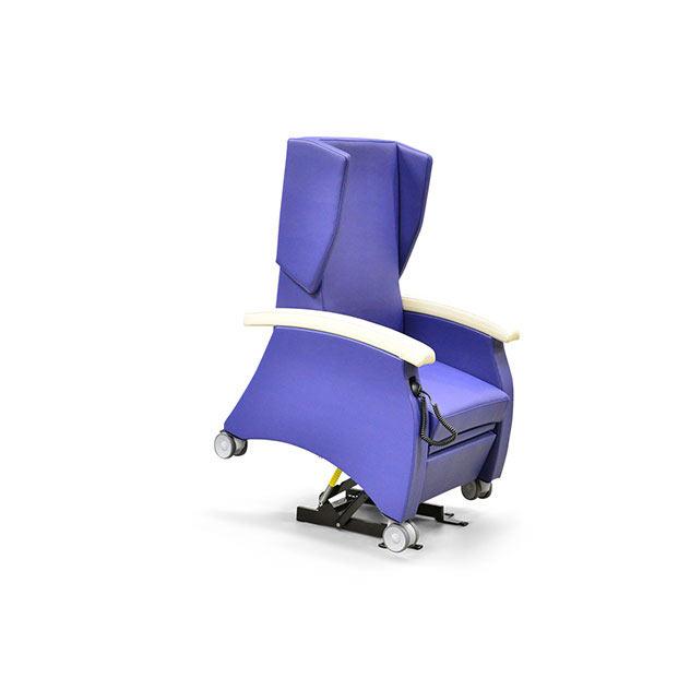 Pflegesessel MultiCare 95513460R blau ov - MultiCare Pflegesessel 95513