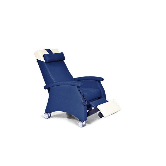 Pflegesessel MultiCare Doppelmotor 94509460R nuit blau td2 - MultiCare Pflegesessel 94509
