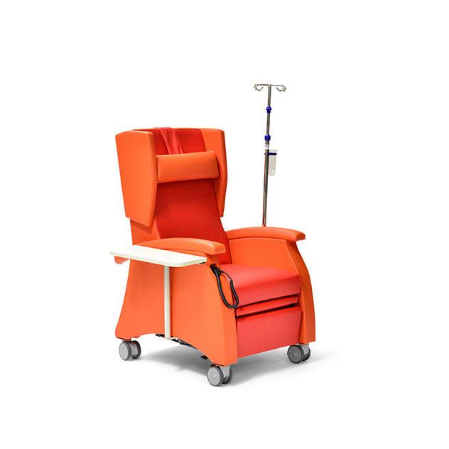 Pflegesessel MultiCare 95509460R orange rot zubehoer 1 - MultiCare Pflegesessel 95509