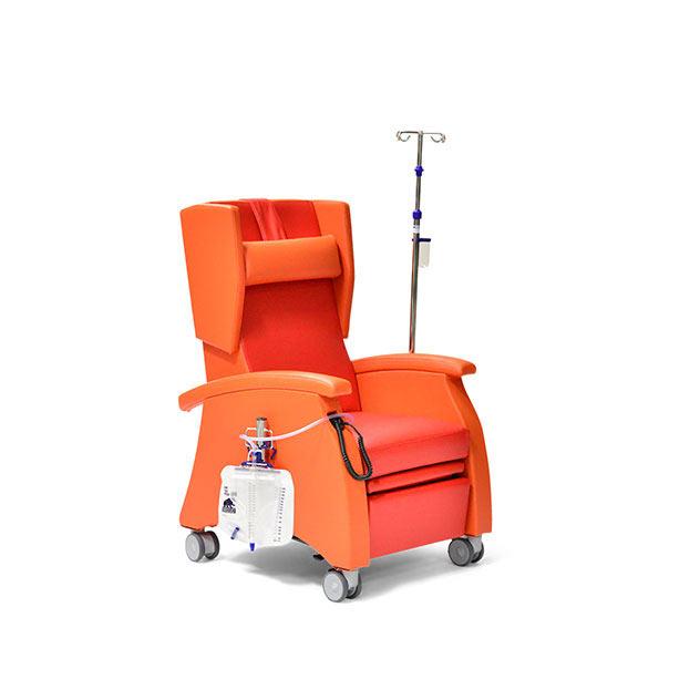 Pflegesessel MultiCare 95509460R orange rot zubehoer 2 - MultiCare Pflegesessel 95509