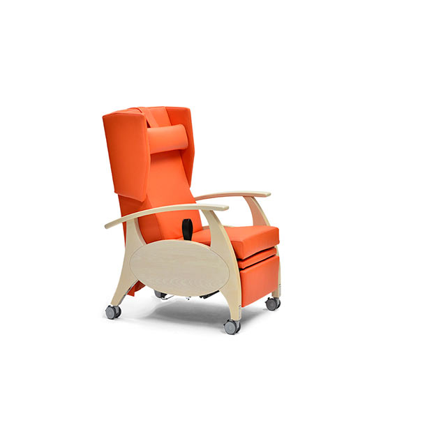 Ruhesessel MultiCare Wood 81502464R ov - Hydraulischer Ruhesessel
