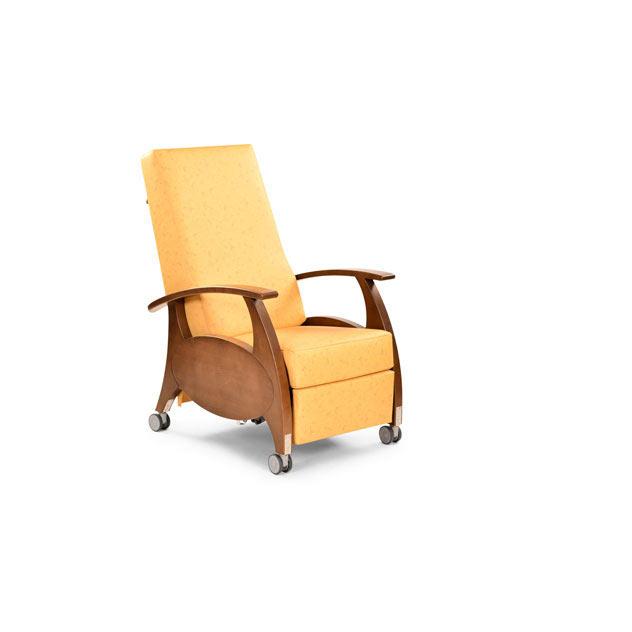 Ruhesessel MultiCare Wood 8500414R gelb 13 - MultiCare Wood 8500 Sichtholz