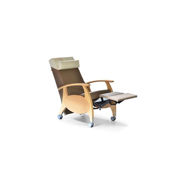 Ruhesessel MultiCare Wood 8500464R shitake 5 - MultiCare Wood 8500 Sichtholz