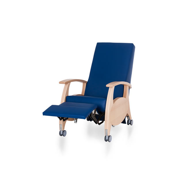 Therapiesessel MultiCare Wood 8500414R blau 3 - MultiCare Wood 8500 Sichtholz
